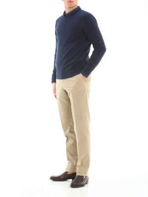 Michael Kors: crew necks online - Extra fine merino wool crewneck
