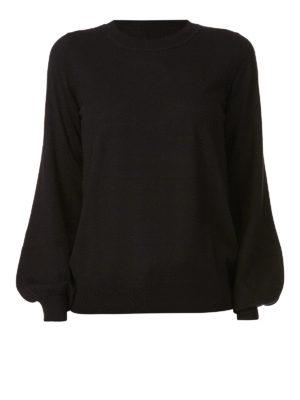 MICHAEL KORS: maglia collo rotondo - Girocollo in misto cashmere con maniche ampie