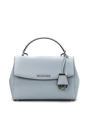 Michael Kors: cross body bags - Ava Small saffiano satchel