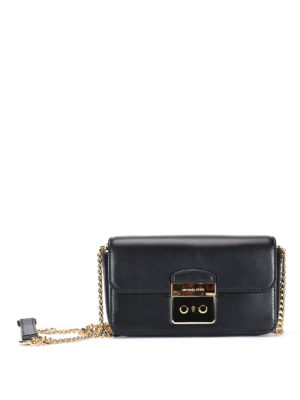 Michael Kors: cross body bags - Chain shoulder strap leather bag