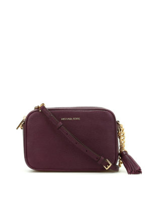 Michael Kors: cross body bags - Ginny leather camera bag