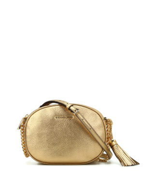 Michael Kors: cross body bags - Ginny leather medium crossbody