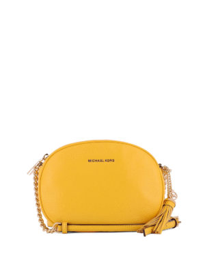 Michael Kors: cross body bags - Ginny medium leather crossbody