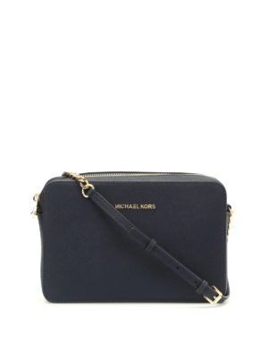 Michael Kors: cross body bags - Jet Set saffiano large bag
