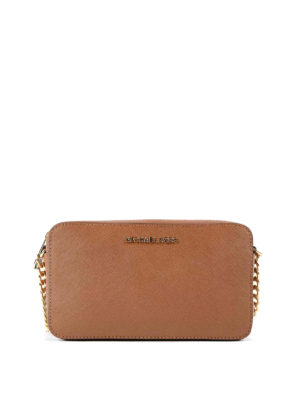 Michael Kors: cross body bags - Jet Set saffiano medium bag