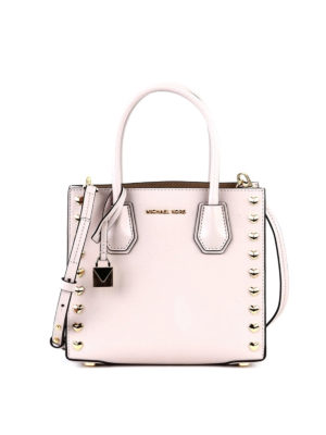 Michael Kors: cross body bags - Mercer M leather cross body