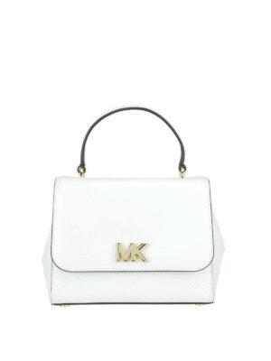 MICHAEL KORS: borse a tracolla - Borsa a tracolla Mott in pelle bianca