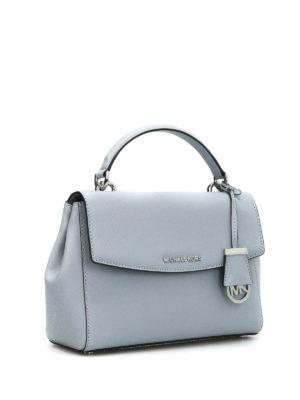Michael Kors: cross body bags online - Ava Small saffiano satchel