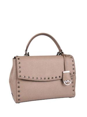 Michael Kors: cross body bags online - Ava studded satchel
