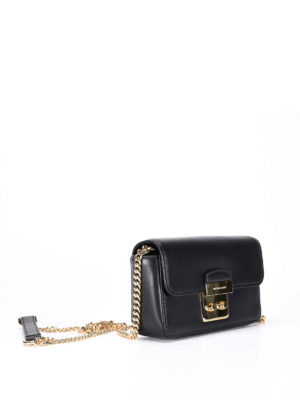 Michael Kors: cross body bags online - Chain shoulder strap leather bag