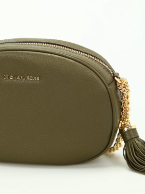 Michael Kors: cross body bags online - Ginny leather medium crossbody
