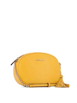 Michael Kors: cross body bags online - Ginny medium leather crossbody