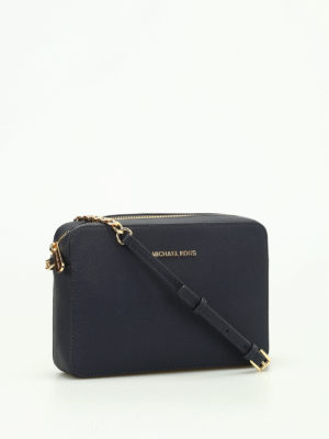 Michael Kors: cross body bags online - Jet Set saffiano large bag