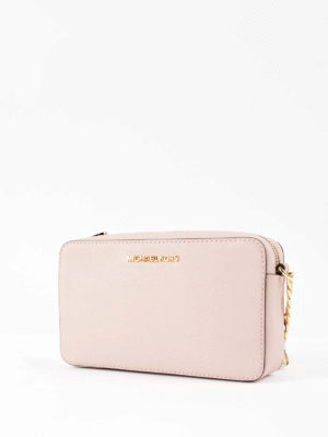 Michael Kors: cross body bags online - Jet Set saffiano medium bag
