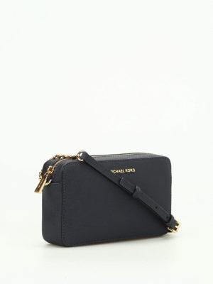 Michael Kors: cross body bags online - Jet Set saffiano medium bag