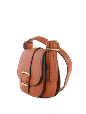 Michael Kors: cross body bags online - Maxine saddle bag