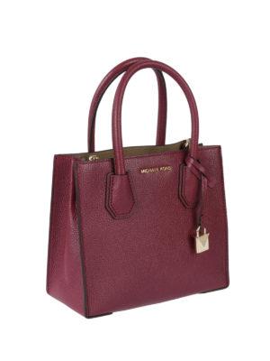Michael Kors: cross body bags online - Mercer mulberry medium handbag