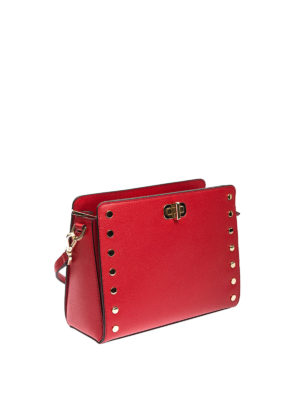 Michael Kors: cross body bags online - Sylvie studded messenger bag