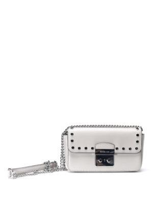Michael Kors: cross body bags - Sloan smooth leather small bag