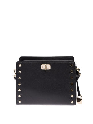 Michael Kors: cross body bags - Sylvie studded messenger bag