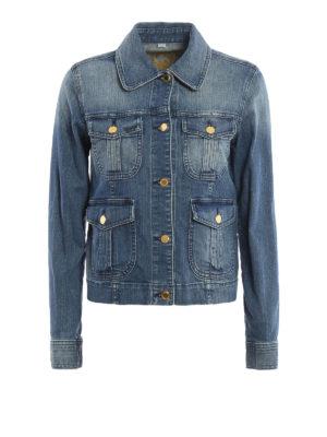 Michael Kors: denim jacket - Multi pockets denim jacket