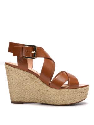 Michael Kors: espadrilles - Clelia wedge sandals