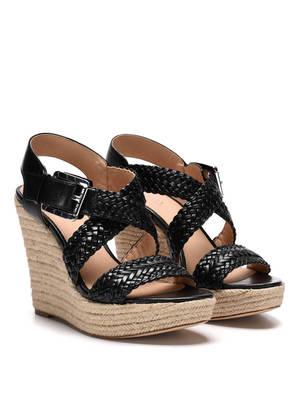 Michael Kors: espadrilles - Giovanna wedge sandals