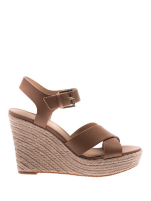 Michael Kors: espadrilles - Kady espadrilles leather sandals