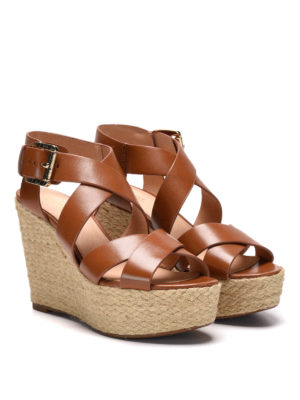 Michael Kors: espadrilles online - Clelia wedge sandals