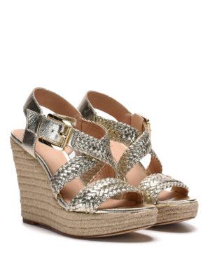 Michael Kors: espadrilles online - Giovanna wedge sandals
