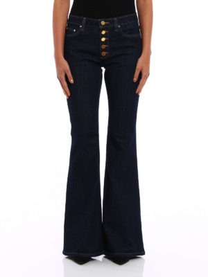 Michael Kors: flared jeans online - Selma high waisted flared jeans