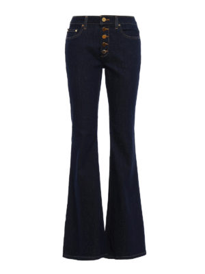Michael Kors: flared jeans - Selma high waisted flared jeans