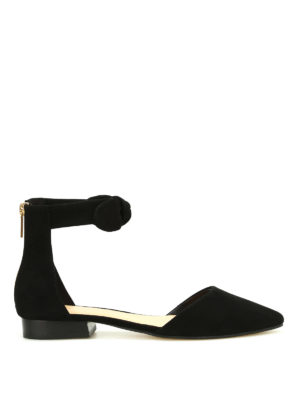 Michael Kors: flat shoes - Alina suede flat shoes