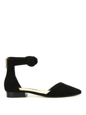Michael Kors: flat shoes - Alina suede flat shoes