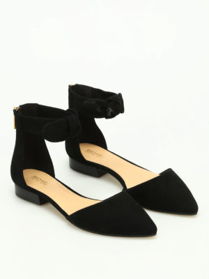 Michael Kors: flat shoes online - Alina suede flat shoes