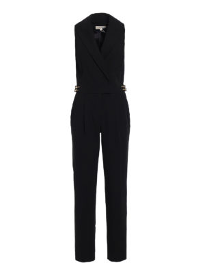 Michael Kors: jumpsuits - Coat style sleeveless jumpsuit