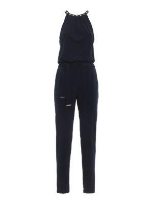 Michael Kors: jumpsuits - Embellished belted jersey jumpsuit