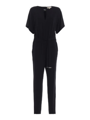 Michael Kors: jumpsuits - Kimono sleeve jersey jumpsuit