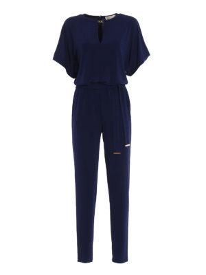 Michael Kors: jumpsuits - Kimono sleeved jersey jumpsuit