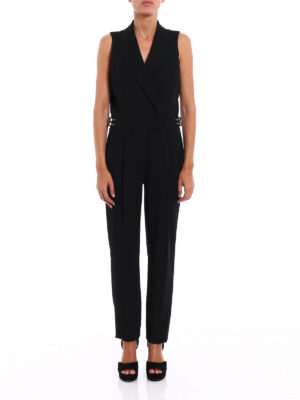 Michael Kors: jumpsuits online - Coat style sleeveless jumpsuit