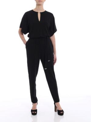 Michael Kors: jumpsuits online - Kimono sleeve jersey jumpsuit