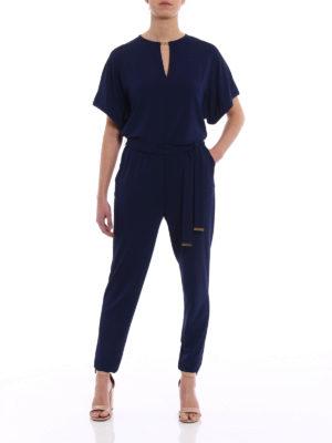 Michael Kors: jumpsuits online - Kimono sleeved jersey jumpsuit