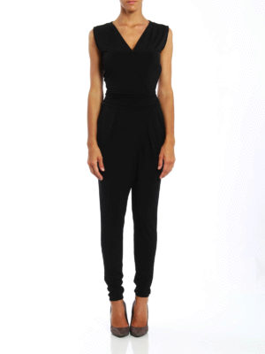 Michael Kors: jumpsuits online - Sleeveless jersey jumpsuit