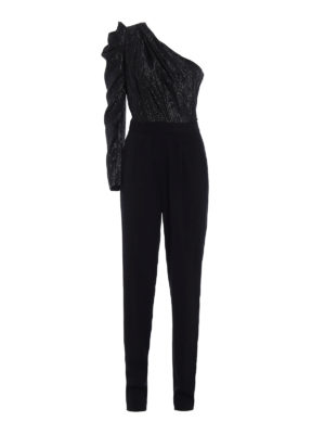 Michael Kors: jumpsuits - Shimmering one-shoulder jumpsuit