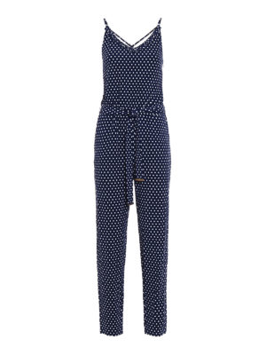 Michael Kors: jumpsuits - Viscose polka dot jumpsuit