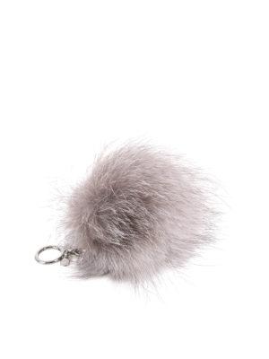 Michael Kors: key holders - Fur ball key ring