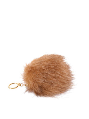 Michael Kors: key holders - Fur ball key ring