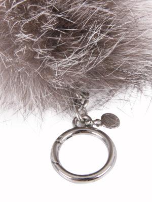 Michael Kors: key holders online - Fur ball key ring