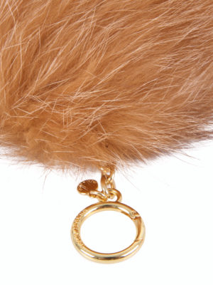 Michael Kors: key holders online - Fur ball key ring