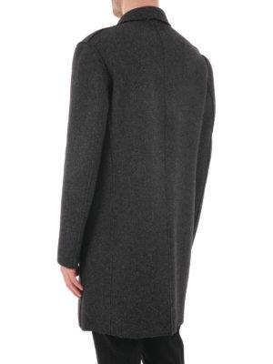Michael Kors: knee length coats online - Wool blend classic coat